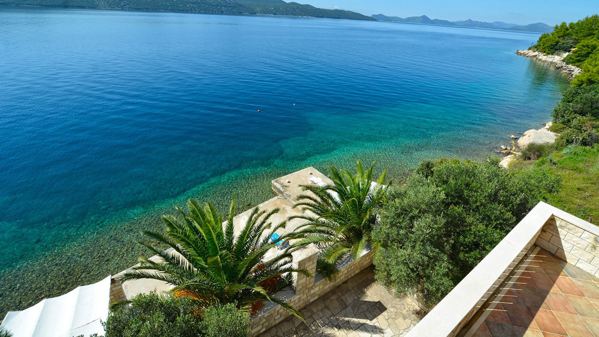 For a family holiday, Villa Ratac is hard to beat, with a beach-front deck, beautiful Mediterranean gardens and pavillions.